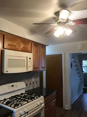 Before & After Ceiling Repair and Re-Paint in Wayne, PA (1)