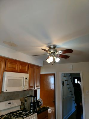 Before & After Ceiling Repair and Re-Paint in Wayne, PA (2)