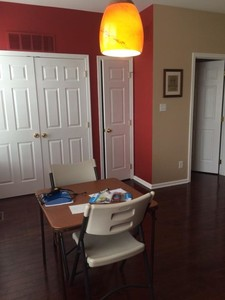 After Interior Painting in a Town House in East Fallowfield, PA