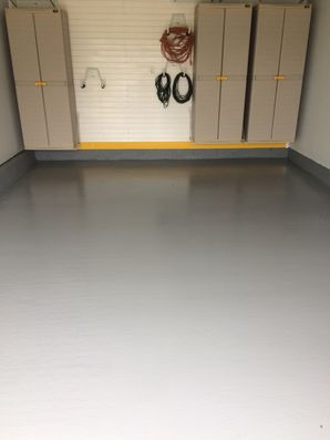 Before & After Garage Floor Painting in West Deptford, NJ (2)