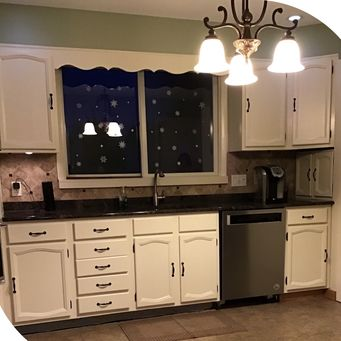Before & After Cabinet Painting in Brookhaven, PA (2)