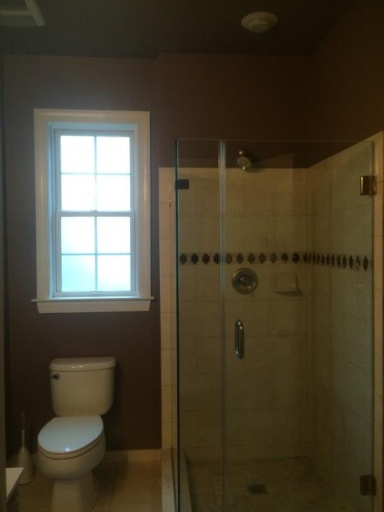 Before Interior Bathroom Painting