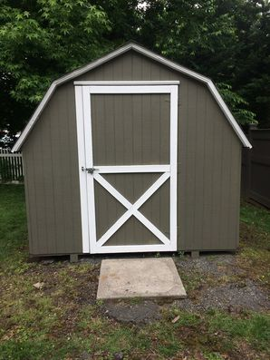 Before & After Shed Exterior Painting in Haddonfield, NJ (2)